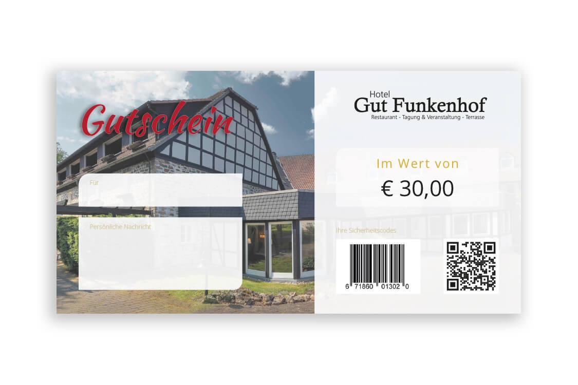 Restaurant-Gutschein 30